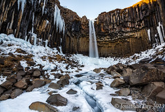 Svartifoss (Jonny Fay) Tags: road winter vacation cliff snow ice water creek 35mm river landscape 1 march waterfall iceland nikon scenery rocks view tripod columns wideangle 03 ring route filter 09 lee nd icicle vista resin filters 06 16mm f4 gitzo route1 basalt graduated density d800 neutral 1635 ringroad svartifoss 1635mm gnd basaltcolumns neutraldensity 2013 3stop 1stop 2stop basaltcolumn 36mp graduatedneutraldensity leefilters nikond800 36megapixels 36megapixel