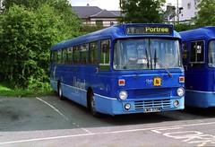 4077 20010827 Rapson LMS 372W (CWG43) Tags: uk bus leopard alexander leyland rapson alexandermidland highlandomnibuses midlandbluebird highlandscottish midlandscottish mpe372 lms372w