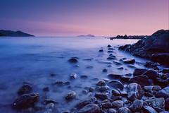 Hung Shing Yeh Beach (Lord Shen) Tags: china trip sunset sea film nature analog canon landscape photography hongkong asia kodak 135 lammaisland potra160