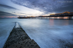 Longer (Joaquim Pinho Photography) Tags: sunset joaquim beach sussex pier brighton long exposure dusk pinho