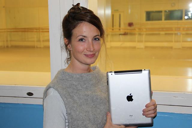 Royal Ballet Principal Lauren Cuthbertson © ROH / Chris Shipman 2013