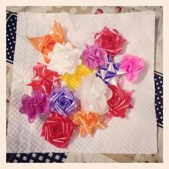 ดอกไม้เงินงานบวช #สวยจัง #ช่างทำ #ดอกไม้ประดิษฐ์