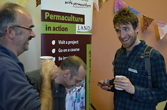 event participants having a good time! (Permaculture Association) Tags: agm s5 2013