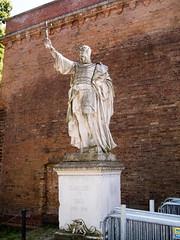 Albrecht der Baer (quinet) Tags: berlin statue museum germany citadel muse spandau albrecht zitadelle siegesallee 2013 walterschott albrechtderbaer albrechtderbr