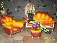 Furniture upgrade (OylOul) Tags: monster high doll ooak create custom upgrade