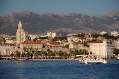 Split, Croatia (pbr42) Tags: sea water harbor town cityscape croatia h2o split hdr