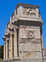 Arch of Constantine, Rome, Italy (Robby Virus) Tags: italy sculpture rome stone italian arch roman statues constantine relief empire triumphal archofconstantine
