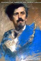 Romualdo Prati Pastello su carta 50x30cm Collezione privata