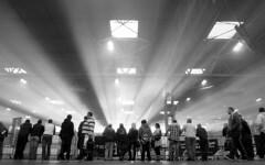 NEC Light Rays 1 (Ben Leslie) Tags: uk birmingham caterham birminghamuk nec autosport