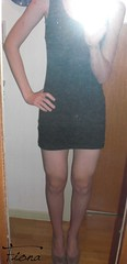 Longtop (fiona_cd1) Tags: sexy legs young crossdressing teen german heels fiona crossdresser crossdress teenage longtop
