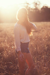 Last Light (Sarah Joy Moore) Tags: light sun love girl field fashion sarah female photography model photographer gorgeous moore flare sunflare
