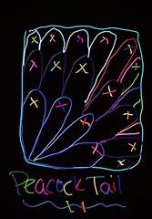 Peacock Tail Tangle (onenonly782) Tags: x loops tangle fill peacocktail zentangle flickrandroidapp:filter=orangutan suzannemcneilczt zentangles4book
