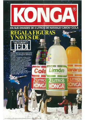 "Konga. ""El retorno del Jedi"". Años 90"