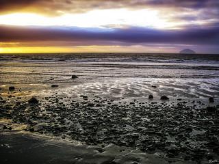 Scottish Beach at Sunset
