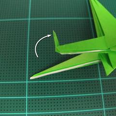 วิธีพับกระดาษเป็นจรวด X-WING สตาร์วอร์ (Origami X-WING) 038
