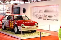 Seat Ibiza Bimotor. Con dos motores, delantero y trasero, de 140 CV. Subcampeón de España de Rallyes de Tierra en 1986 y 1987.