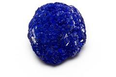 Azurite Nodule from Russia (venusroxcrystals) Tags: blue russia azurite nodule venusroxcrystals