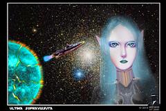 Ultima sopravissuta (ADRIANO ART FOR PASSION) Tags: photoshop yura spazio salvataggio meeme ringexcellence mortediunpianeta