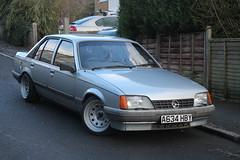 1984 Vauxhall Carlton S GL saloon (Opel Rekord)