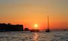 Sunset in Venice (Fins from Budapest) Tags: venice sunset sea italy sun lake boat italia venezia soe dorsoduro autofocus ringexcellence flickrtravelaward