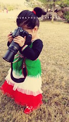 Little niece loves photography (Zaina.Faraola) Tags: camera baby canon photography kid photographer little niece zaina 60d