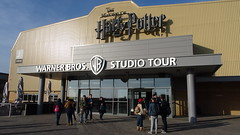 Arrivée aux studios du Making of Harry Potter