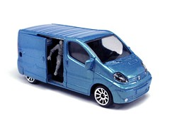 Majorette - Renault Trafic (Leap Kye) Tags: car truck model renault delivery van majorette trafic diecast wermacht armedclown309