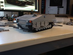 Trying to do a CV-90 (Retroshark) Tags: tank lego military vehicle custom combat apc 90 cv moc uploaded:by=flickrmobile flickriosapp:filter=nofilter