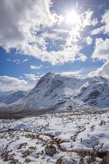The Devil's Staircase (Reuns) Tags: blue sun clouds scotland soleil landscapes glencoe nuage ecosse devilsstaircase