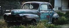 Old Car in Glendale Utah I think 2014 (houstonryan) Tags: auto panorama art car vintage print photography utah automobile photographer glendale ryan antique may n houston photograph rusted vehicle 2014 photogrpah utahn houstonryan