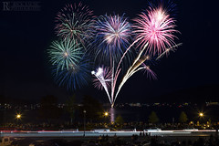 Lake George July 4th Fireworks 2015