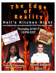 Hell's Kitchen Night (thedgeofreality@gmail.com) Tags: realitytv realityrally anthony rodriguez aziza young hellskitchen