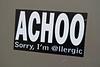Achoo, New Orleans, LA (Robby Virus) Tags: neworleans louisiana la nola bigeasy achoo allergic sticker slap graffiti artist tagger