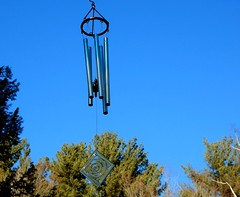 Chiming in the Wind (Icanpaint1) Tags: chimes blue windchimes blowinginthewind wjtphotos