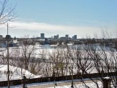 Ottawa River (Will S.) Tags: mypics ottawariver ottawa ontario canada ice river water winter spring sunshine bluesky baretrees