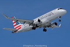N443YX (thokaty) Tags: kbdl bradleyinternationalairport americanairlines americaneagle republicairways embraer erj175 erj170 erj175lr e175 e175lr n443yx eis2014 dca
