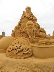 Nursery rhymes in sand (Joybelle007) Tags: sand nurseryryymes frankston australia clever