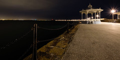Dun Laoghaire (OgniP) Tags: night lights harbour pier dun laoghaire bandstand wide ireland fuji