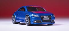 2009 Audi TTS (andrew.foeller) Tags: audi tts hotwheels miniature car blue