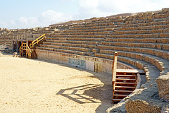Israel-04843 - Hippodrome Seating (archer10 (Dennis) 94M Views) Tags: israel globus sony a6300 ilce6300 18200mm 1650mm mirrorless free freepicture archer10 dennis jarvis dennisgjarvis dennisjarvis iamcanadian novascotia canada mediterranean sea middleeast caesarea nationalpark roman ruins theatre hippodrome statues palace