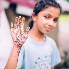 Nepal POTD (Peace Gospel) Tags: portrait outdoor girl girls child children kids cute adorable henna lovely loved sweet innocent innocence peace peaceful hope hopeful thankful grateful gratitude empowerment empowered empower