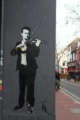 Talent (chloeharper2) Tags: streetart street art graffiti brighton uk thelanes city road market shops photography