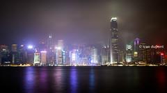 The magical bay, Hong Kong, SAR og China (monsieur I) Tags: asia abroad asian city cityscape clouds cloudy faraway hongkong hongkongbay hongkongisland monsieuri night nightlife panorama skyscrapers symphonyoflights travel traveler water world