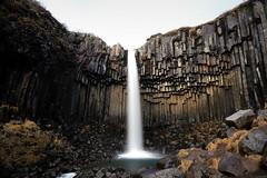 Svartifoss (pooly7) Tags: waterfall svartifoss iceland islande travel travelling visit europe longexposure water outdoor basalt
