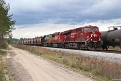 GA storm brewing (Trains1983) Tags: csx q647 cp canadian pacific ge emd freight haywood ga georgia rr railroad train