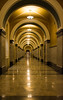 In times of trouble, I will always be there lighting the way... (knoxnc) Tags: longhallway reflectionoflight nikon washingtondc d7200 libraryofcongress lighting ceilinglights archedceiling