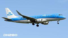 KLM Cityhopper E175 (dn280tls) Tags: klm cityhopper e175 phexg