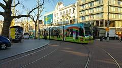 Hoor ik daar een Lama s.......? (Peter ( phonepics only) Eijkman) Tags: amsterdam city combino tram transport trams tramtracks rail rails gvb strassenbahn streetcars trolley advertise nederland netherlands nederlandse noordholland holland