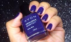 Roxo Diva - Avon (Raabh Aquino) Tags: unhas nails roxo purple loucadosroxos avon nailpolish naillacquer