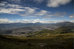 High Above Quito (Jill Clardy) Tags: city mountain feet car volcano high quito ecuador cityscape tram peak cable vista elevation breathtaking pichincha 13287 4b4a5332